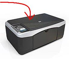 HP F2120 scanner